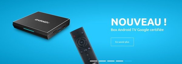Android TV BOX Google certifiée compatible myCANAL