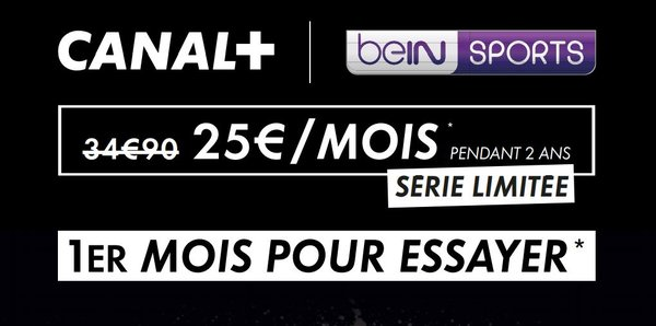 Offre PACK CANAL+ beIN SPORTS