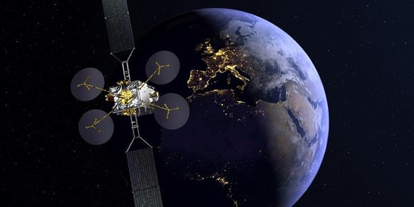 Satellite Konnect via Eutelsat