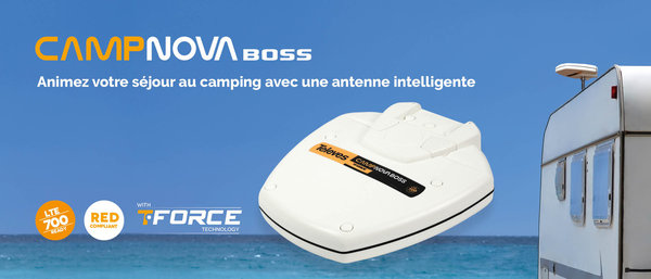 Antenne Camping Intelligente Boss Tech RED Compliant