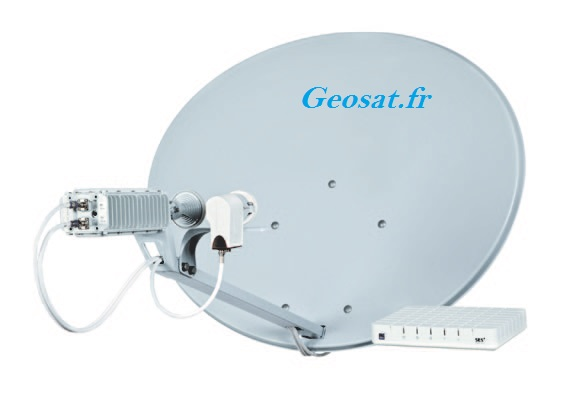 Antenne Internet par Satellite SES ASTRA